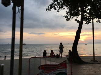 Sunset at Ao Nang Beach